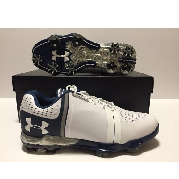 e0537814850a Under Armour Spieth One Golf Shoes Navy Size 7